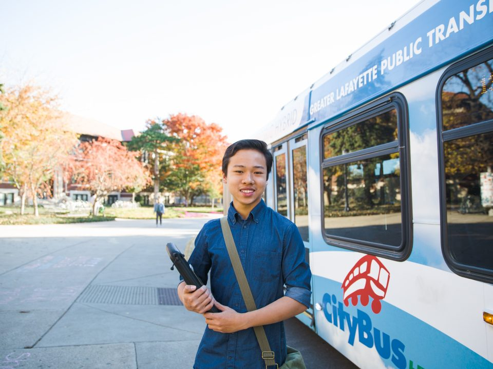 Purdue's new transit system has caused CityBus route changes.