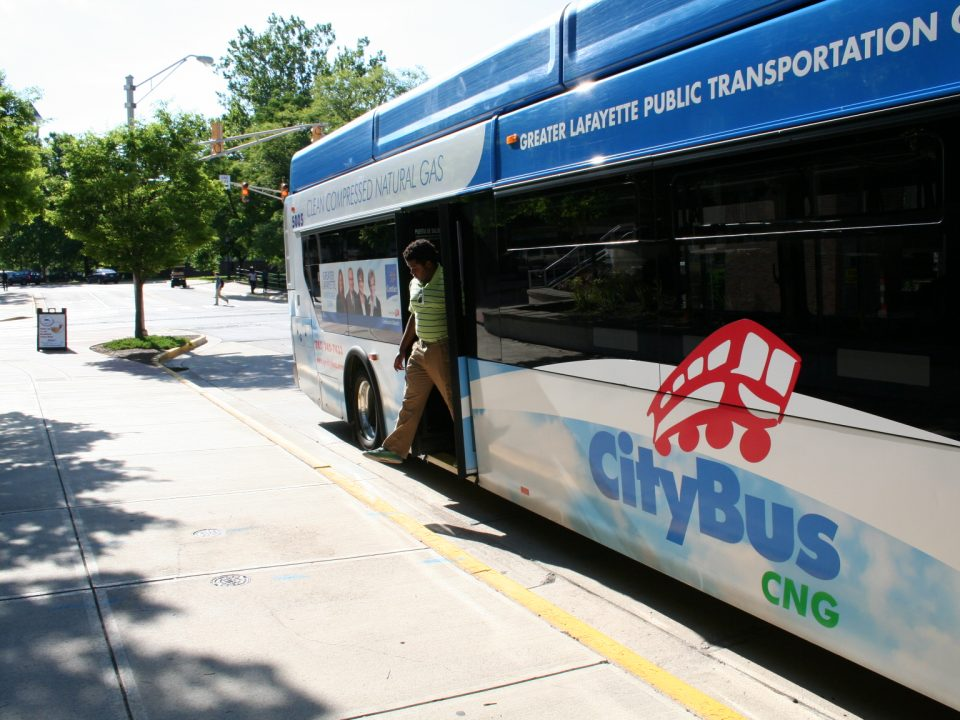Enjoy convenience and free transportation with CityBus' Ride to Work program.